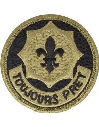 NSN: 8455-01-647-5756 (UNIT PATCH, 2ND CAVALRY REGIMENT (2CR), MULTICAM / OCP) - ArmyProperty.com