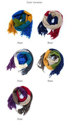 Made4U × Nakota knit scarf