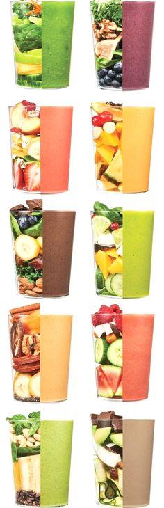 631 best gr ne smoothies images on pinterest drinks. Black Bedroom Furniture Sets. Home Design Ideas