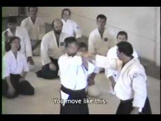 Morihiro Saito, 9th dan, teaches the fundamentals of nikyo