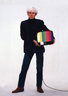 Andy Warhol (August 6, 1928 - February 22, 1987)
