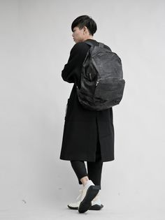 10sei0otto LEATHER BACKPACK