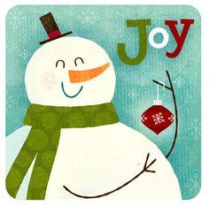 Snowman Joy - mrmack, via Flickr