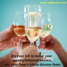 It's your job to make your accomplishment known, not your boss's job to discover them.