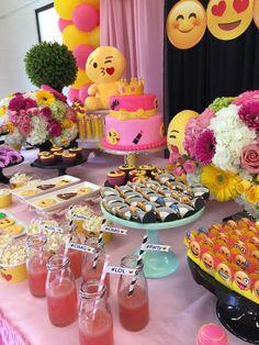 emoji Birthday Party Ideas   Photo 1 of 165