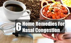 6 Home Remedies For Nasal Congestion