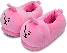Official Merchandise by Line Friends - Character Plush House Slippers for Women and Men - Beige Winter Slippers, Cute Slippers, Bts Doll, Fashion District Los Angeles, Cotton House, Fashion Slippers, Cartoon T Shirts, Line Friends, Leather Slippers