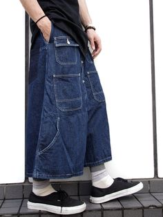 "KIDILL (キディル) ""Hakama Denim 2nd Type"" <ワイドクロップドデニム>"