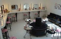 The Powder Room in London...read my mind and created a salon like the one i envision!