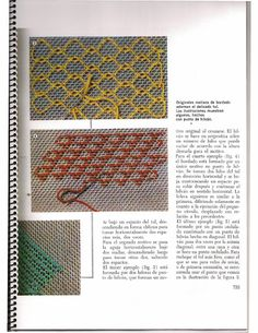 Libro de tul - Lourditas Vindel - Álbumes web de Picasa Embroidery Stitches, Embroidery Patterns, Knitting Patterns, Swedish Weaving, Drawn Thread, Crochet Cushions, Point Lace, Lace Doilies, Needle Lace