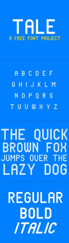 Tale - free font