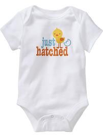 I love this little onesie from Old Navy!