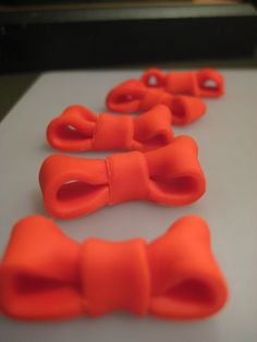 Minnie Mouse Bows #fooddecoration, #food, #cooking, https://facebook.com/apps/application.php?id=106186096099420