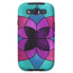 Faux Stained Glass Samsung Galaxys3 Vibe case Samsung Galaxy SIII Covers