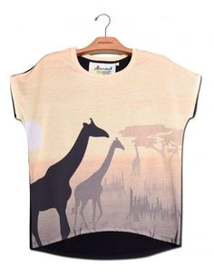 Blusa Prima Girafa www.usenatureza.com #UseNatureza #JeffersonKulig