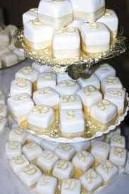 we could consider a smaller cake and serve petit fours