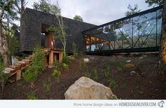 The Ranco House in Kept in a Forest in Chile