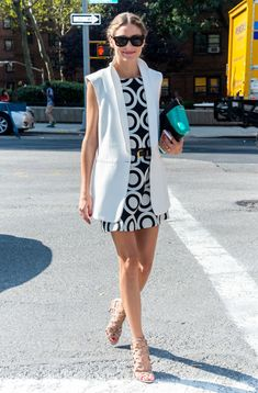 Olivia Palermo out during New York Fashion Week. See all of the model's best looks.
