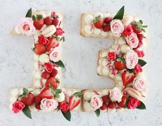 Modern Number Cakes | Share This Recipes