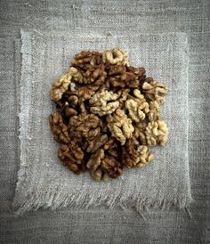 Also into several kinds of nuts for snacking. Good fiber, natural, a little protein. Almonds and dried pears mixed together––yum!