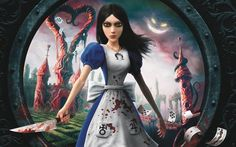 If you want to see American McGee's Alice in Otherland come to life then please sign our petiton. A little over a year ago Alice: signatures on petition) Alice Liddell, Alice Madness Returns, Lewis Carroll, Xbox, Dark Alice In Wonderland, Electronic Arts, Mystery, Survival, Video Game Reviews