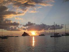 Alba Isole Eolie. Panarea.