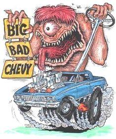 Ed Roth's Big Bad Chevy