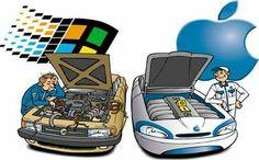 MAC vs PC  La Mac y la PC tiene una vieja rivalidad. Como si fueran antónimos y perteneciendo al mismo campo semántico pero en extremos opuestos de este. Ha surgido una polarización entre los usuarios de una y otra, sobre todo a partir de aquellos polémicos anuncios de MAC vs PC.  Sigue leyendo aquí blog.carlossanin.com/mac-vs-pc