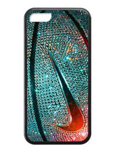 Nike Basketball Photo Glitter iPhone 5c Case #iphone #case #iphonecase #phonecase #iphone5 #nike #nikecase