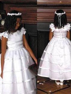A-Line Round-neck Floor- Length Flower girls Dress 2010 Style(GFF0018)on Sale With USD$ 105.99 : Weddingshe.com