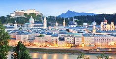 La bella ciudad de #Salzburgo