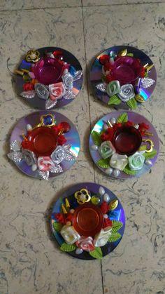 Homemade diyas for diwali  celebration