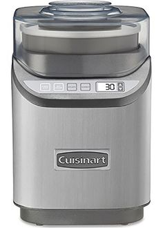 6. The Cuisinart ICE-70 Ice Cream Maker