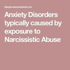 Exposure to Narcissistic Abuse is LITERALLY damaging to your physical & mental health!!!