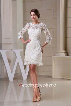 Wholesale and Retail Wonderful Lace Zippered Embellished Wedding Dress - the Best Wedding Dresses Wholesale and Retail Online Store