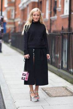STREET STYLE LONDON FASHION WEEK SS 2014