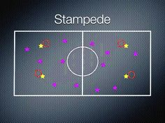 Gym Games - Stampede - maybe with flags for horse tails instead of hulahoop lassos...