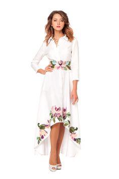 """Платье """"Бажена"""" - Юкостайл. Магазин дизайнерской одежды оптом и в розницу."""