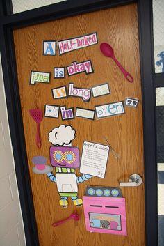 great idea, but id use this as a classroom bulletin board idea! such a good idea!!