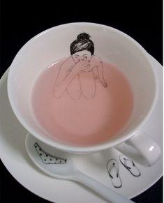 """Bathing Girl"" tea set by Esther Horchner, £39.95"