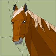 (7) Name: 'Quilting : Horse