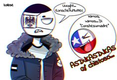 Read from the story Imágenes y Cómics de Countryhumans. by jennydbz (I love RusAme. amino, etc, yaoi. Hetalia, Mundo Comic, Gifts For An Artist, Country Art, Favorite Person, Little Gifts, Cute Cats, Cool Art, Funny Pictures