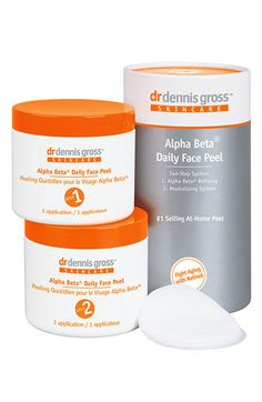 """Dr. Dennis Gross - Alpha Beta Daily Face Peel"" GREAT peel to do at home!! $78.00 #Nordstrom"
