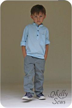 Melly Sews: Pattern Spotlight - the Prepster Pullover