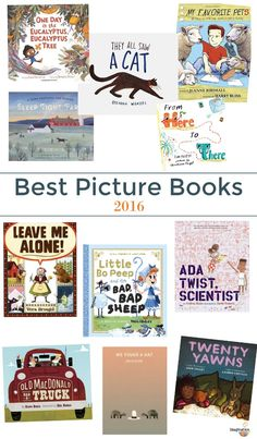 Imagination Soup's picks for the best children's picture books of 2016