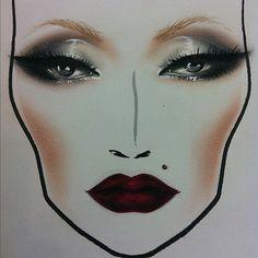 face chart | Tumblr