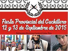 Federal - Fiesta Provincial del Cuchillero 2015 - Region Litoral