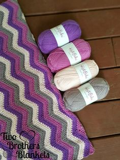 I LOVE the Herringbone Double Crochet stitch and I love sport weight yarn, so I combined the two to create this fun baby blanket! The pattern is FREE below or you can purchase the pdf for $1 on Rav… #CrochetPatterns