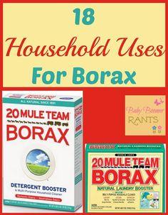 18 Household Uses For Borax