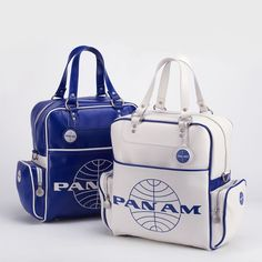 Pan Am handbags are the chic offspring of a successful airline that peaked at the start of mass air travel.